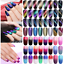 LILYCUTE-9D-Magnetic-Soak-Off-UV-Gel-Nail-Polish-Cat-Eye-Thermal-Nail-Art-Gel thumbnail 1