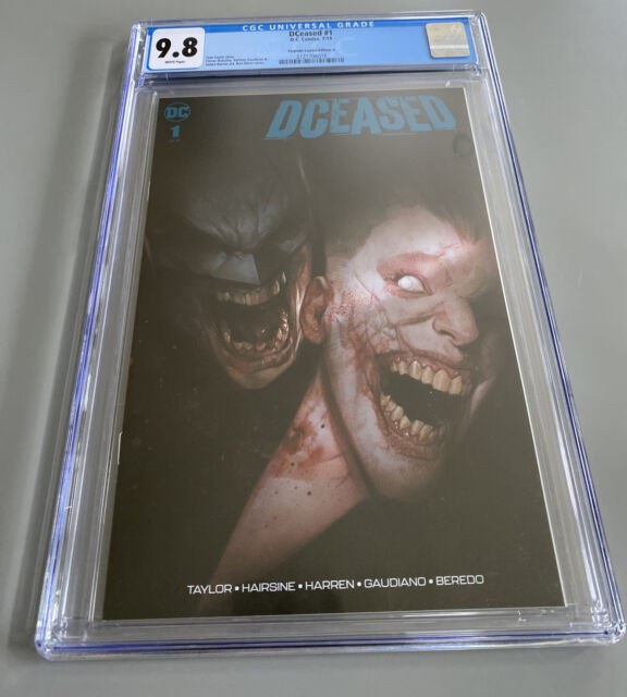 DCEASED 1 CGC 9.8 Torpedo Comics Cover A Variant Ben Oliver Limited- White Pages