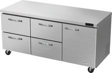 Blue Air Blur72 D4lm Hc 4 Drawer 1 Right Door 60 Undercounter Refrigerator