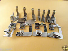 Juki DDL-5550,8300,8700 adjustable bias tape binder, Rolled,scroll hemmer foot,