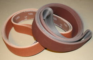 "2 x 72 /""Metal Eater/"" Ceramic Sanding Belt 60 Grit 3pcs"