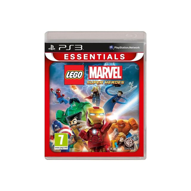 LEGO Marvel Super Heroes Essentials (PS3) BRAND NEW SEALED