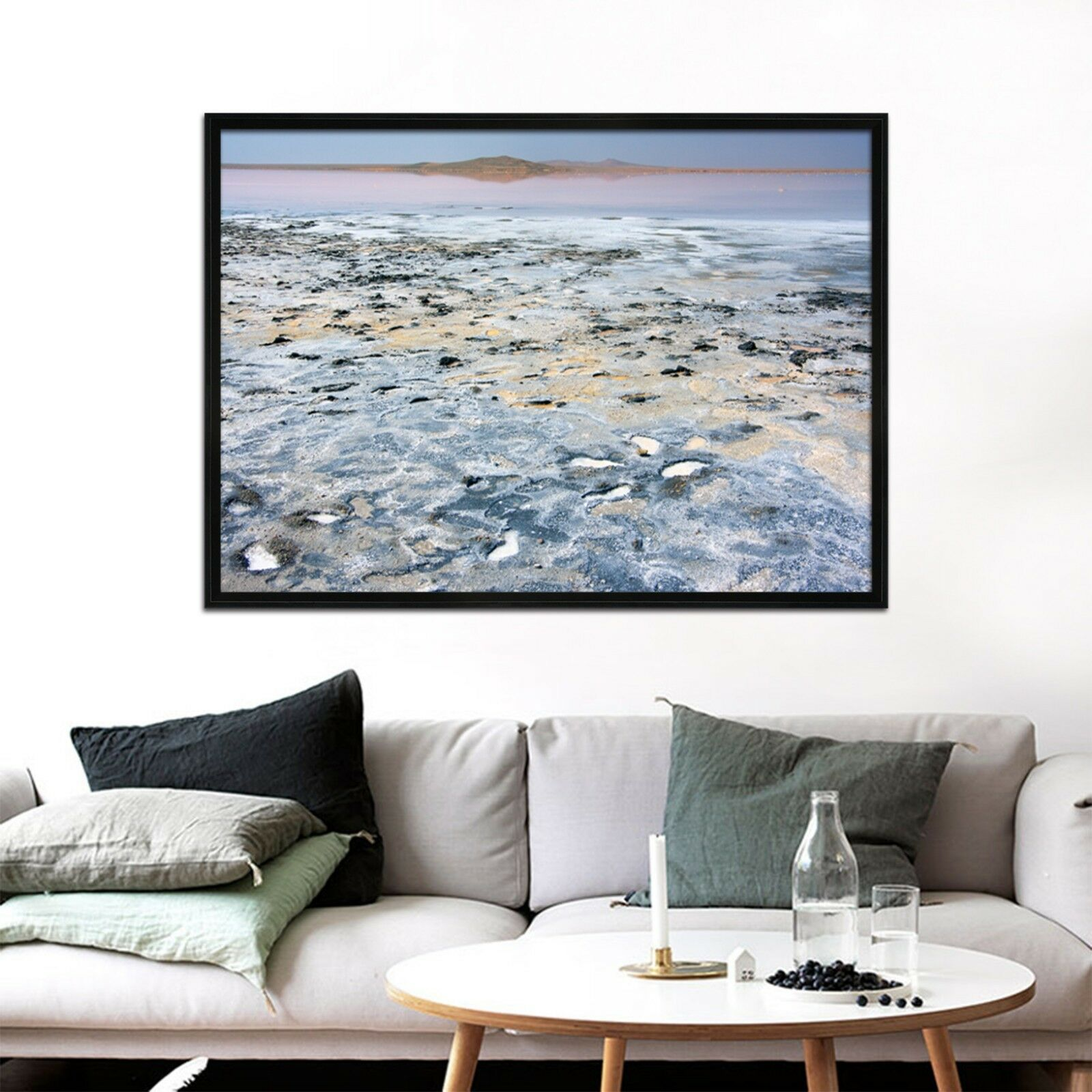3D Mud Pit 62 Framed Poster Home Decor Print Painting Art AJ WALLPAPER