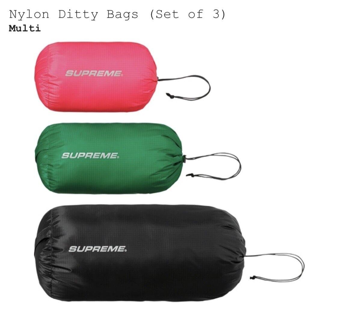 Supreme Nylon Ditty Bags FW17 Box Logo