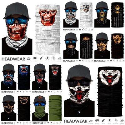 Kerchief Face Mask Sun Mask Neck Gaiter Balaclava Fishing Scarf Headwear Tube UV