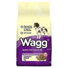 2 x 15kg Wagg Complete Senior complete with chicken and rice only £21.25 each!