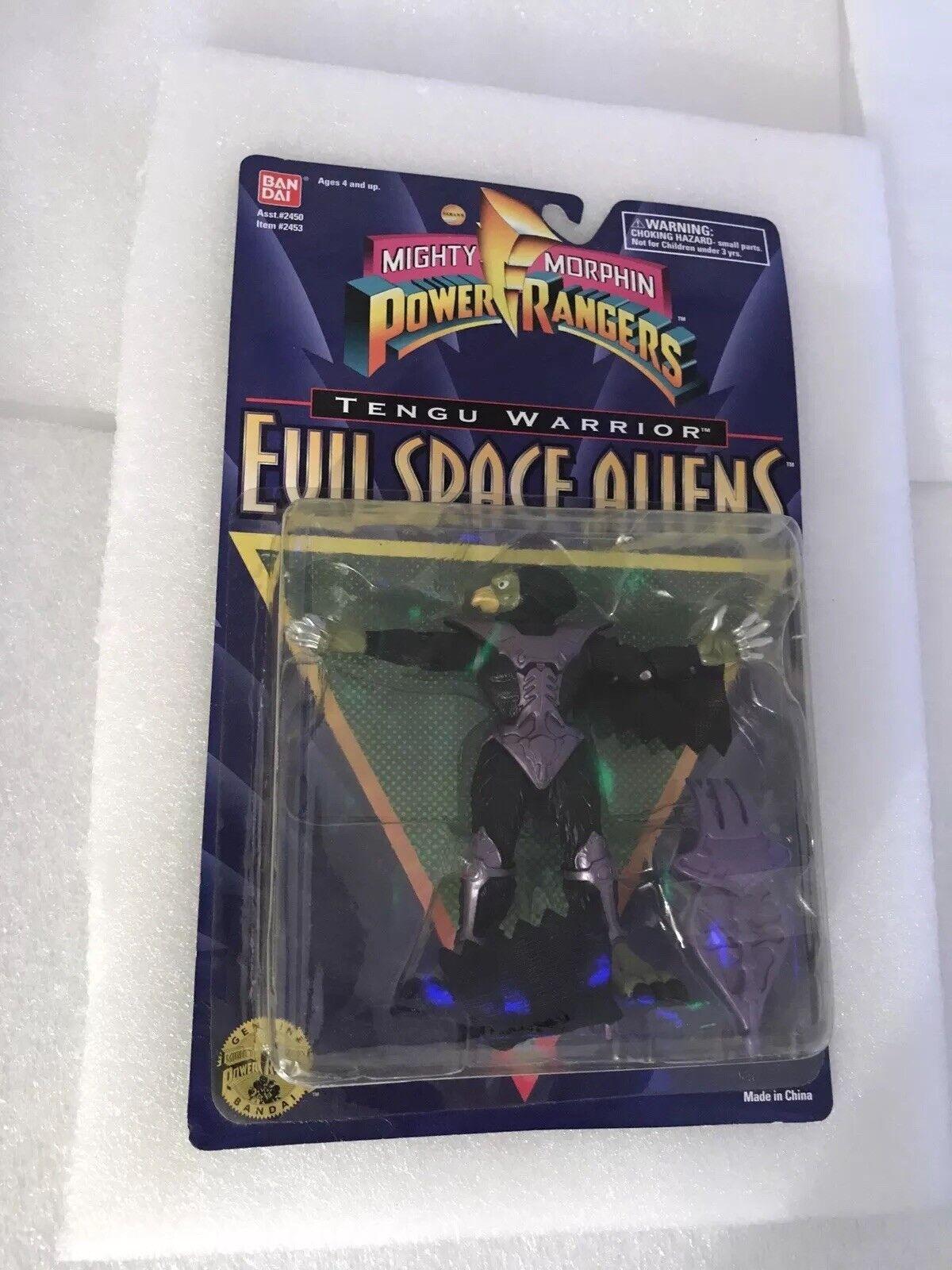 El poderoso moffin Ranger, el malvado astronauta, el Guerrero skyperro, 1995.