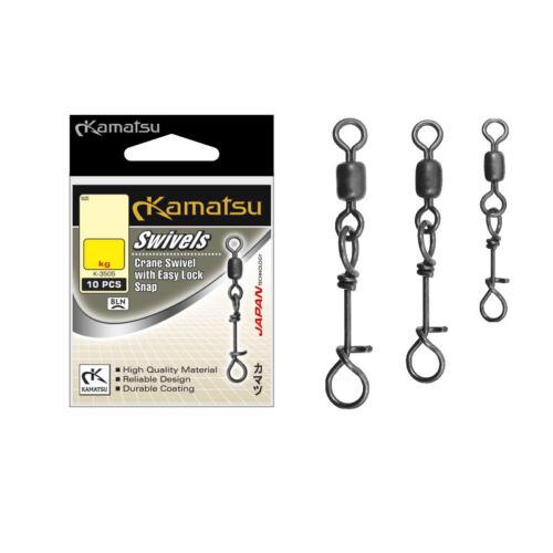 speciale aggancio Clip KAMATSU k-3505 Crane Swivel with EASY-LOCK SNAP vertebre