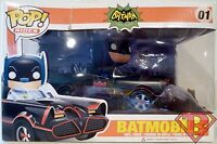 Funko Pop Heroes 1966 Batmobile Action Figure Toys