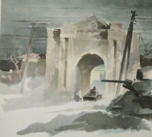 WW-2-Orel-Russland-1942-43-034-Stadttor-Gluchow-034-Kriegsberichter-H-Schneider