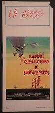 Locandina LASSU' QUALCUNO E' IMPAZZITO 1989 HANS STRYDOM 20TH C.FOX