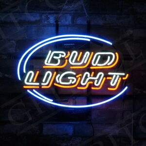 Image Is Loading 034 Bud Light 034 Neon SIgn Light Beer