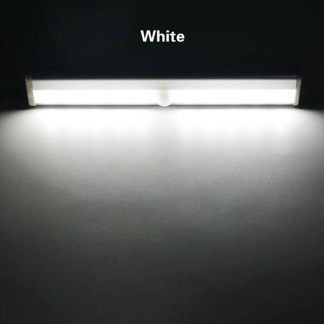 Wardrobe Cabinet Closet Night Lamp 10LED PIR Motion Sensor Light 120° Wireless