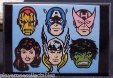 "The Avengers 2"" X 3"" Fridge Magnet. Hulk Thor Iron Man Captain America"