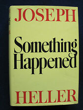 SOMETHING HAPPENED by JOSEPH HELLER First Edition in Dust Jacket