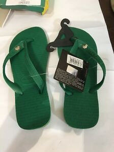 b3644cfd6037 BRAND NEW havaianas kids SIZE 4-5 Thongs Australian Green And Yellow ...