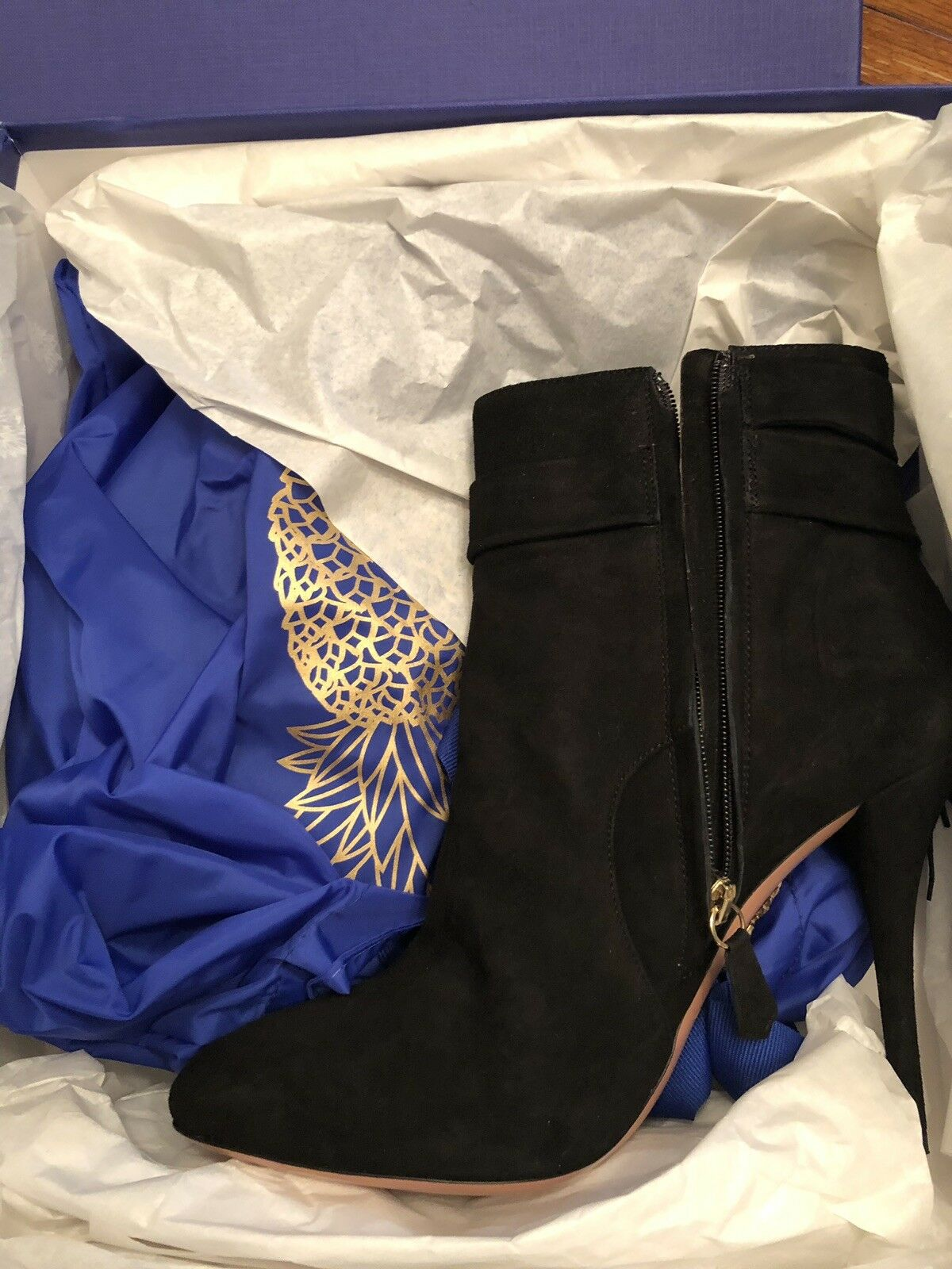 Womens Aquazzura Firenze Booties Brand New Size 40