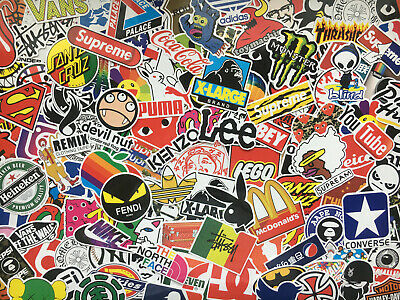 vinyl glossy Lot de stickers aléatoire doodle stickerbomb enfant logos