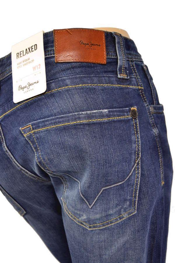 PEPE Jeans Kingston z45 REGULAR FIT BLU SCURO-NUOVO -
