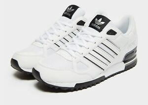 Adidas-Originals-ZX-750-pour-Homme-Baskets-Noir-Blanc-Limited-STOCK-EXCLUSIVE