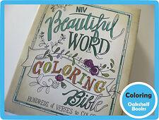 NIV Beautiful Word Coloring Bible ~ NEW