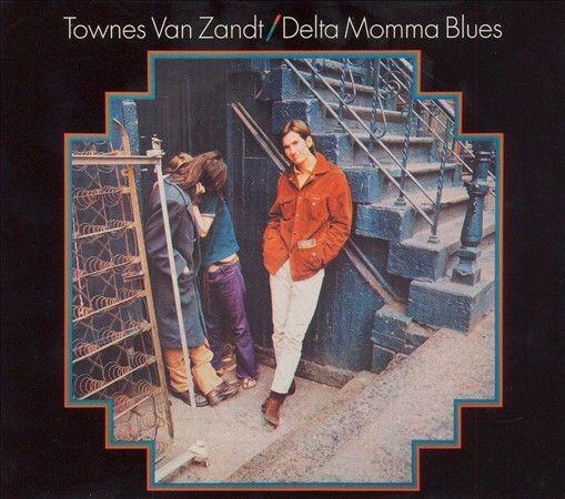 Delta Momma Blues (CD) by Townes Van Zandt Sealed Digipak