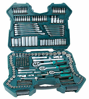 "Mannesmann Premium Combination Ratchet & Socket Set 215 pcs 1/2"" / 3/8"" / 1/4"""