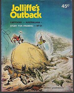 JOLLIFFE-039-S-OUTBACK-91-Saltbush-Bill-Cartoons-amp-Australiana-1970-039-s-VGC