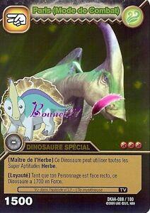 Dinosaur king cards alpha attack battle mode paris dkaa 088 100 gold holo gold ebay - Carte dinosaure king ...