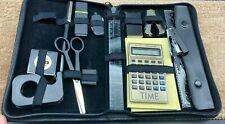 Time Magazine Padfolio Portfolio Organizer Zippered Portable Office Supplies
