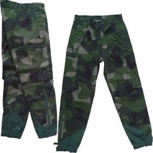 Original schwedische Armee Feldhose Hose schwedentarn M90 camo trousers 180/85