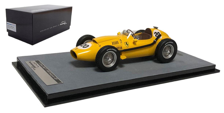 salida de fábrica Tecnomodel Ferrari Dino 246  20 Bélgica GP GP GP 1958-Olivier Gendebien 1 18 Escala  muy popular