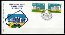 Suriname - 1962 Opening hospital - Clean unaddressed FDC!