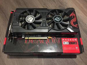 PowerColor AMD Radeon RX 570 Red Dragon 4GB GDDR5 Graphics Card