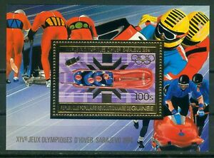 Guinea-Block-79-A-Olympische-Spiele-1984