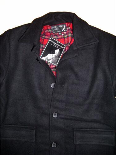 Mod Lining Heavy Punk Schwere Skin Worker Ska Jacket Wool Jacke Donkey Tartan x85IUqwa
