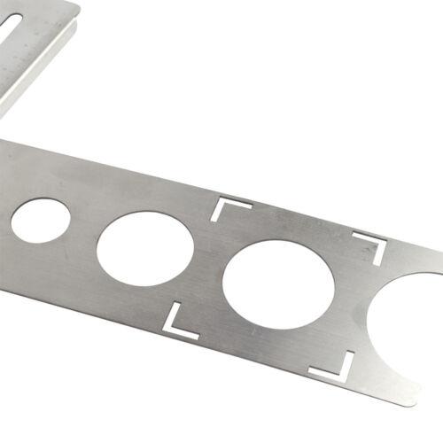 Stainless Steel Ceramic Tile Hole Locator Floor Drilling Guide Finder Gauge  OK1