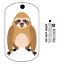 Le paresseux traçable TAG voyage suivi traçable juste comme un voyage Bug Sloth Tag