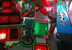 AFM Attack From Mars Pinball SCOOP Light Mod