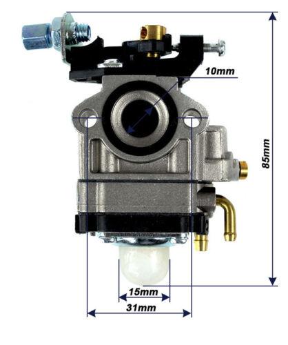 Vergaser für Güde GMH 600 Fuxtec FX-MH 1.2-257 Heckenschere GMH 601