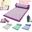 Massage-Acupressure-Mat-with-Pillow-Bag-Yoga-Kits-Sit-Lying-Mats-Cut-Pain-Stress thumbnail 2