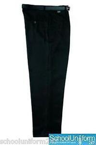Zeco-Extra-Short-Leg-School-Uniform-Trousers-Waist-27-38-034-Mens-Senior-Boys