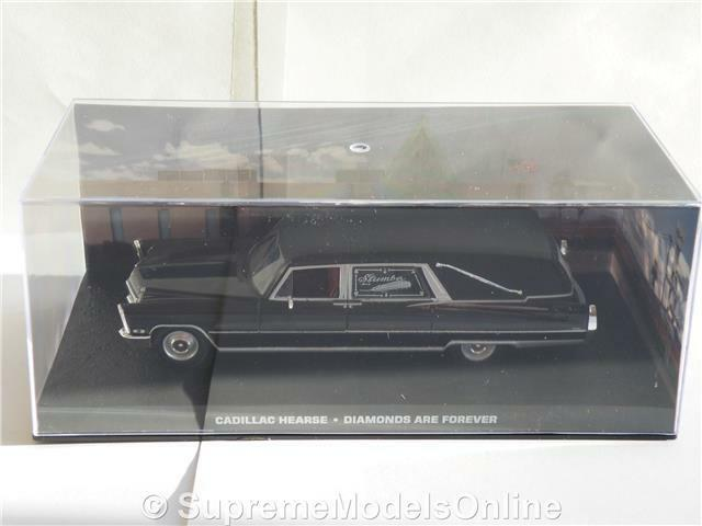 James Bond Cadillac Hearse diamantes son son son para siempre Coche Modelo 1 43RD problema K8967Q     8a6bc0