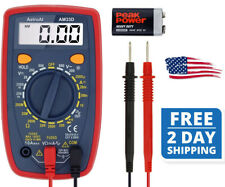 Digital Multimeter Diode Voltage Tester Meter Data Hold And Large Digital Disp