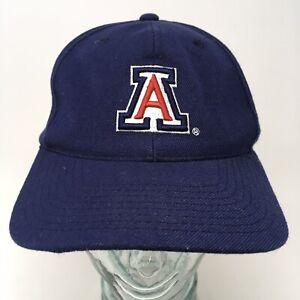 Sports-Specialties-NCAA-University-of-Arizona-Baseball-Cap-Hat-Blue-Strap-Back