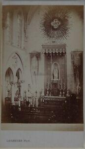 Eglise Da Legendre Brest Francia Foto CDV PL45L2n15 Vintage Albumina