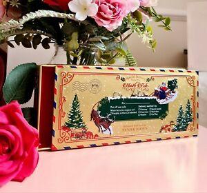 PENHALIGONS-Christmas-vacio-Metal-Conjunto-de-Regalo-Pantalla-De-Estano-contenia-Halfeti-5-Ml