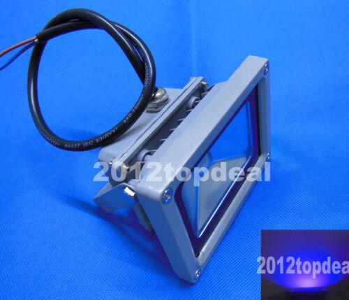10W High Power LED Floodlight Wall Wash UV Light 395nm Garden Outdoor 85-265V