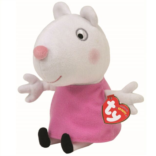 d6e26c83101 Ty Beanie Babies 46139 Peppa Pig Suzy Sheep for sale online