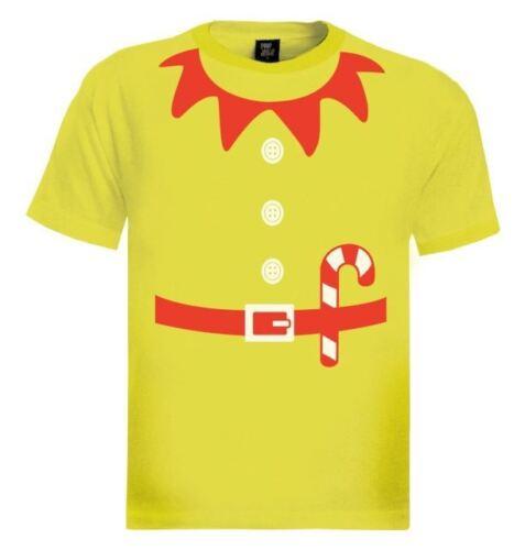 Elves Suit Outfit ELF CHRISTMAS T-Shirt Crazy Party TV Gift Idea Granny